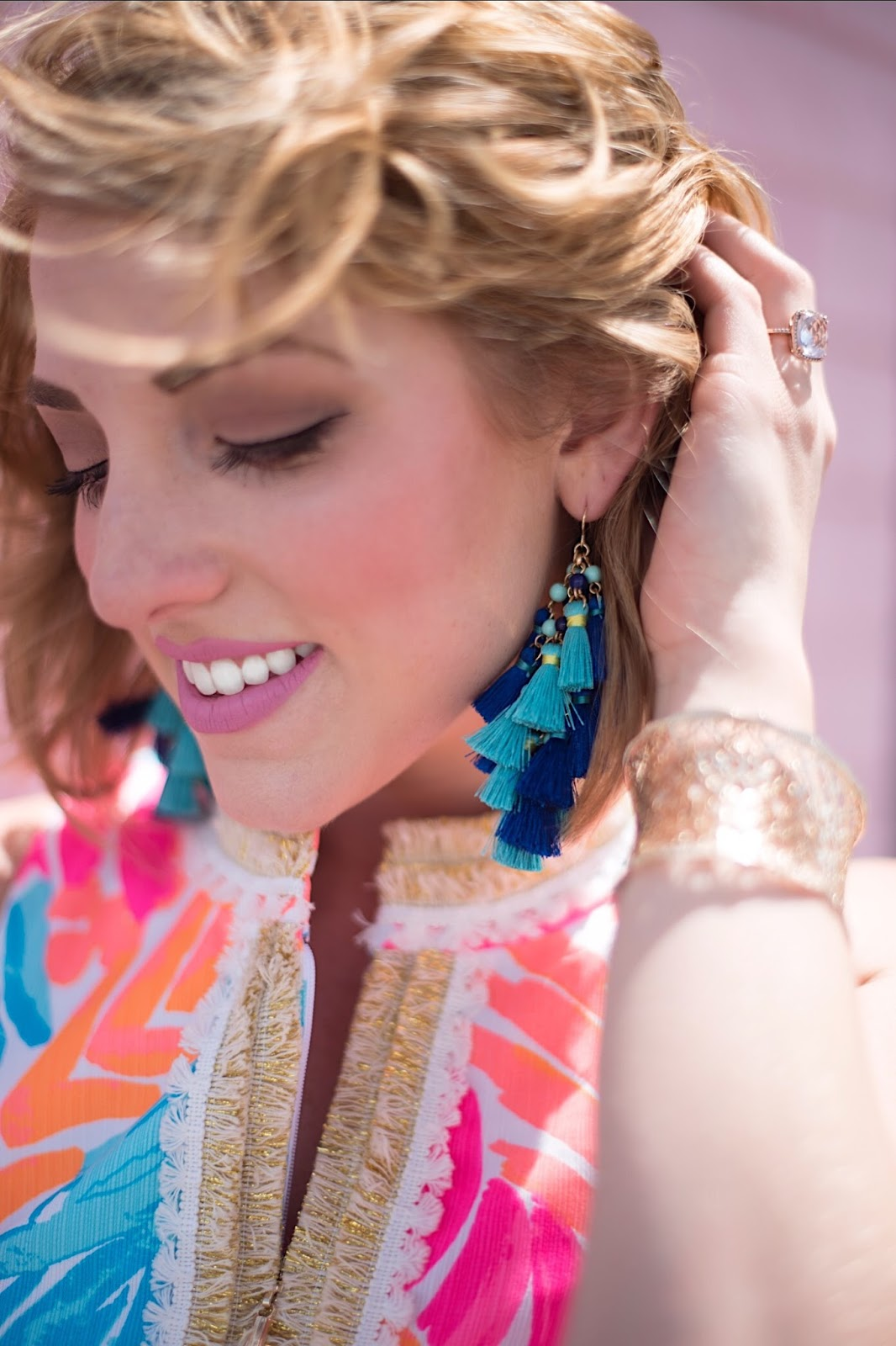 Baublebar Rosalita Tassel Drops - Click through to see more on Something Delightful Blog!