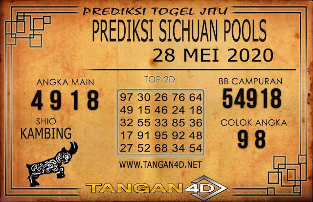 PREDIKSI TOGEL SICHUAN TANGAN4D 28 MEI 2020