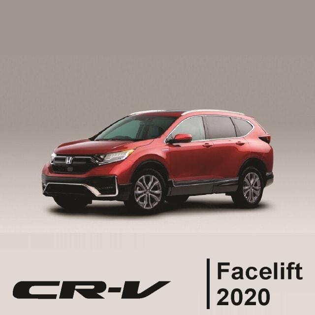 Honda CR-V 2020 bản lắp ráp CKD đăng ký lái thử xe với hệ thống Honda Sensing, Lanewatch, đặt trước xe| Honda CRV Facelift