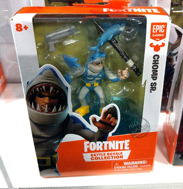 Toy Fair 2019 MOOSE Toys Fortnite Battle Royale Collection single figure packs