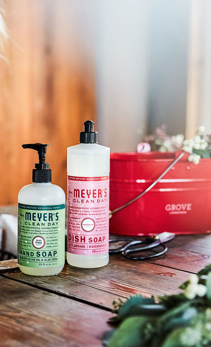 #ad Holiday cleaning is easy with Mrs. Meyers #grovepartner