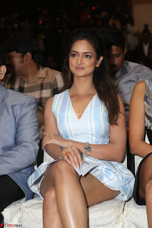 Shanvi Looks super cute in Small Mini Dress at IIFA Utsavam Awards press meet 27th March 2017 93.JPG