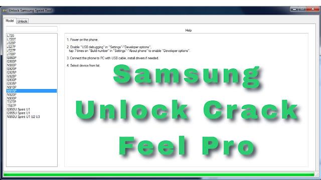 samsung unlock Pro Sprint Tool Download Free