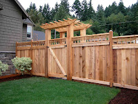 Ideas para construir cercas de madera con diseños únicos