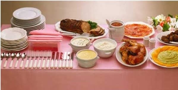 Almoços e jantares informais