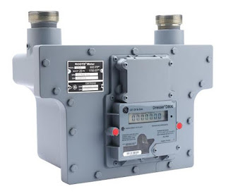 rotary gas meter roots meter
