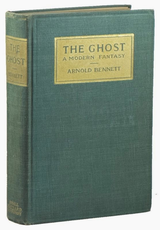 book cover the ghost a modern fantasy