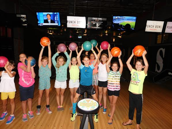 Free bowling at Punch Bowl Social