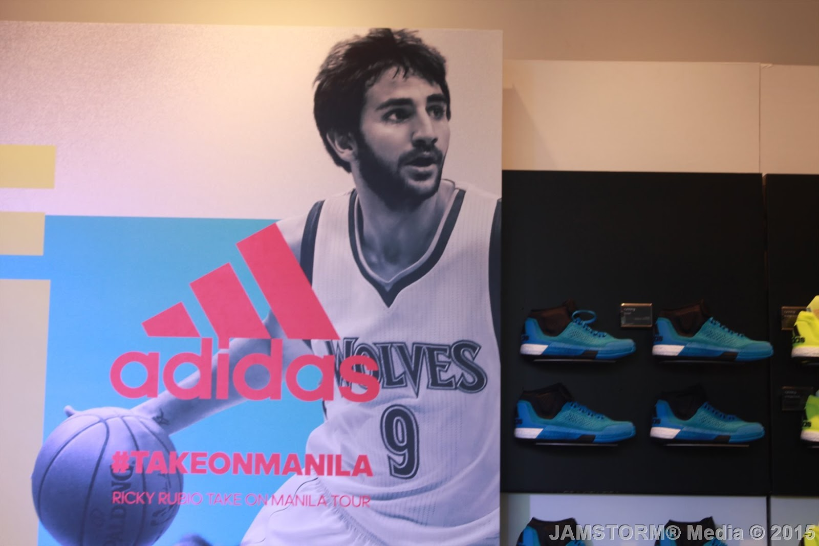 Ricky Rubio Is Getting His Own adidas Crazylight Boost 2015