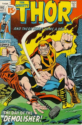 Thor #192, Durok the Demolisher