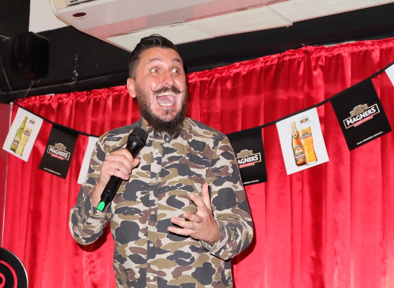 magners international comedy festival singapore matthew giffen