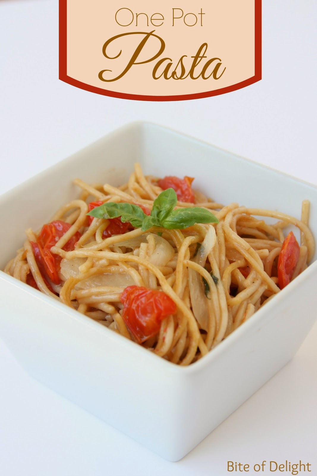 One Pot Pasta | Healthy Recipe | Easy Recipe