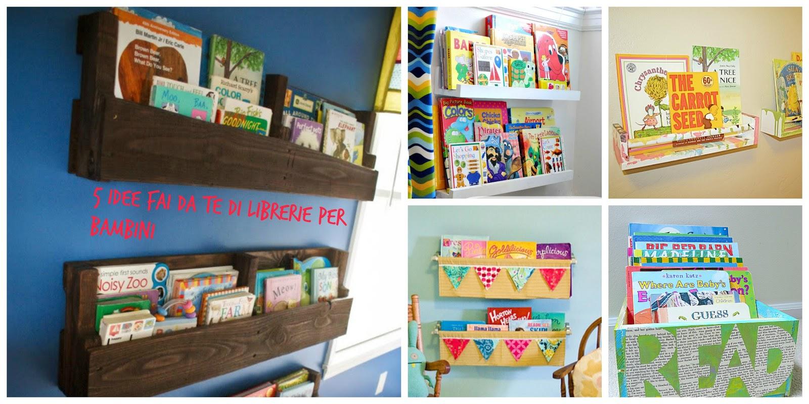 Come Sistemare Una Porta In Legno 5 idee fai-da-te per sistemare i libri dei bambini - read me