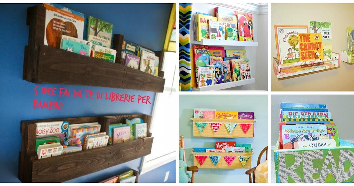 5 idee fai da te per sistemare i libri dei bambini read for Sistemare casa