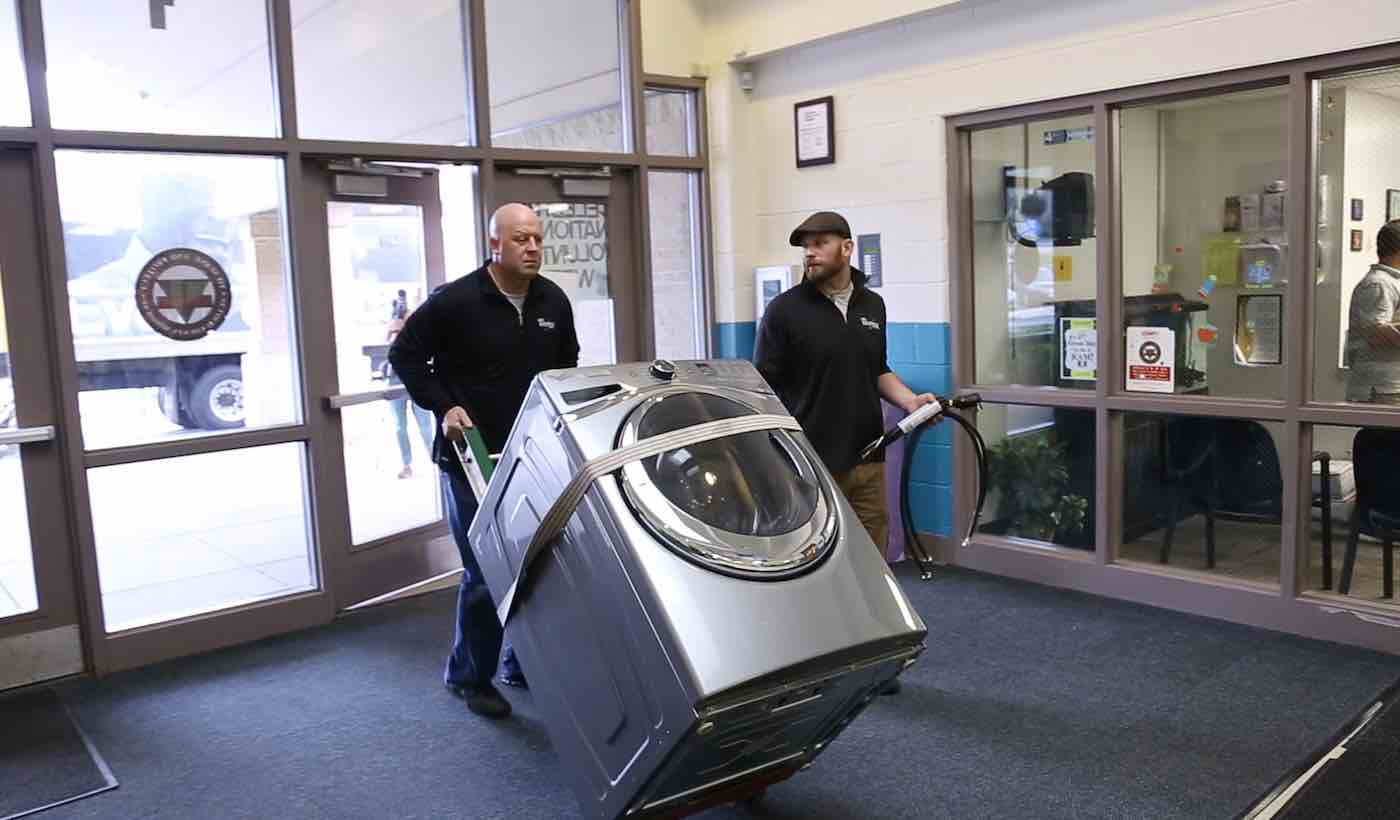 Whirlpool Provides Free Washing Machines To School So That Students Don't Drop Out