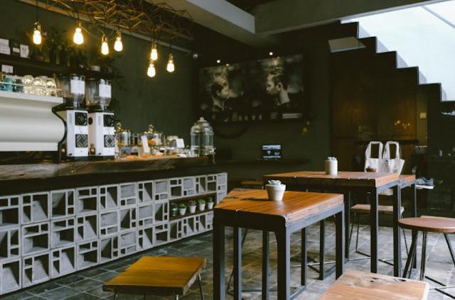 desain kafe kopi modern terbaru
