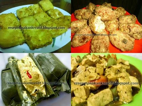 Resep Masakan Praktis Aneka Olahan Tahu Aneka Resep