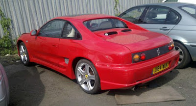 Réplica cutre Ferrari
