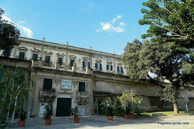 Corso Itálico, antigas muralhas de Palermo, Sicília
