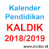Download Kalender Pendidikan/KALDIK Tahun Pelajaran 2018/2019