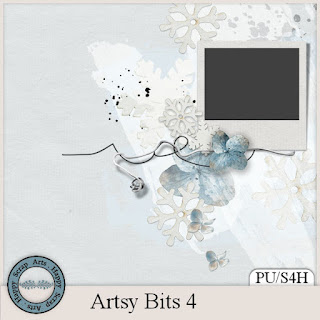 New in store Artsy bits 4 by Happy Scrap Art.
