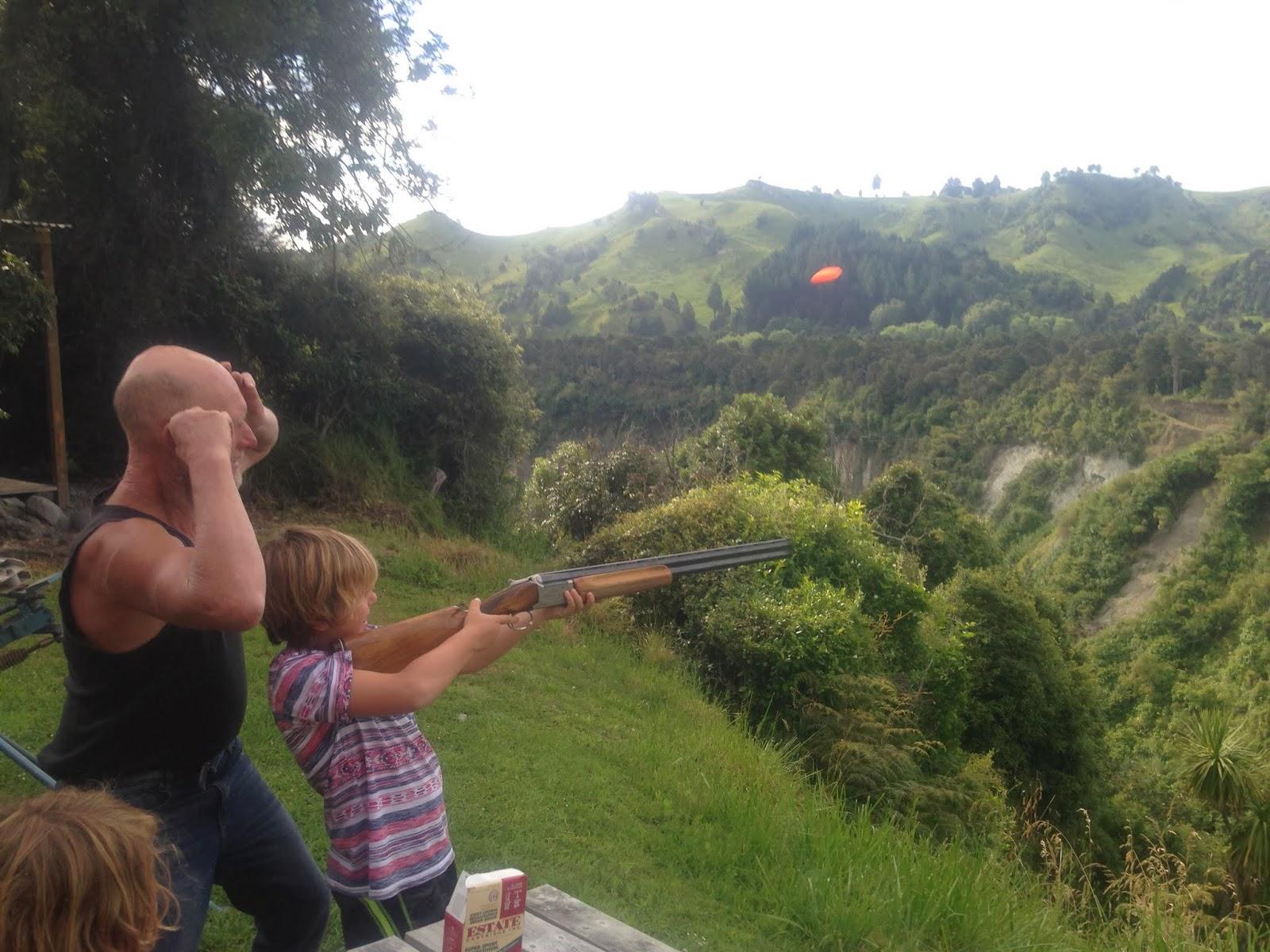 Lastingertravelblog Possum Hunting And Skeet Shooting In