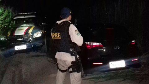 PRF  recupera nas BRs  de Aalagoas veículos roubados