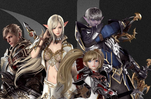 Efek Set Armor Warrior Lineage 2 Revolution Indonesia