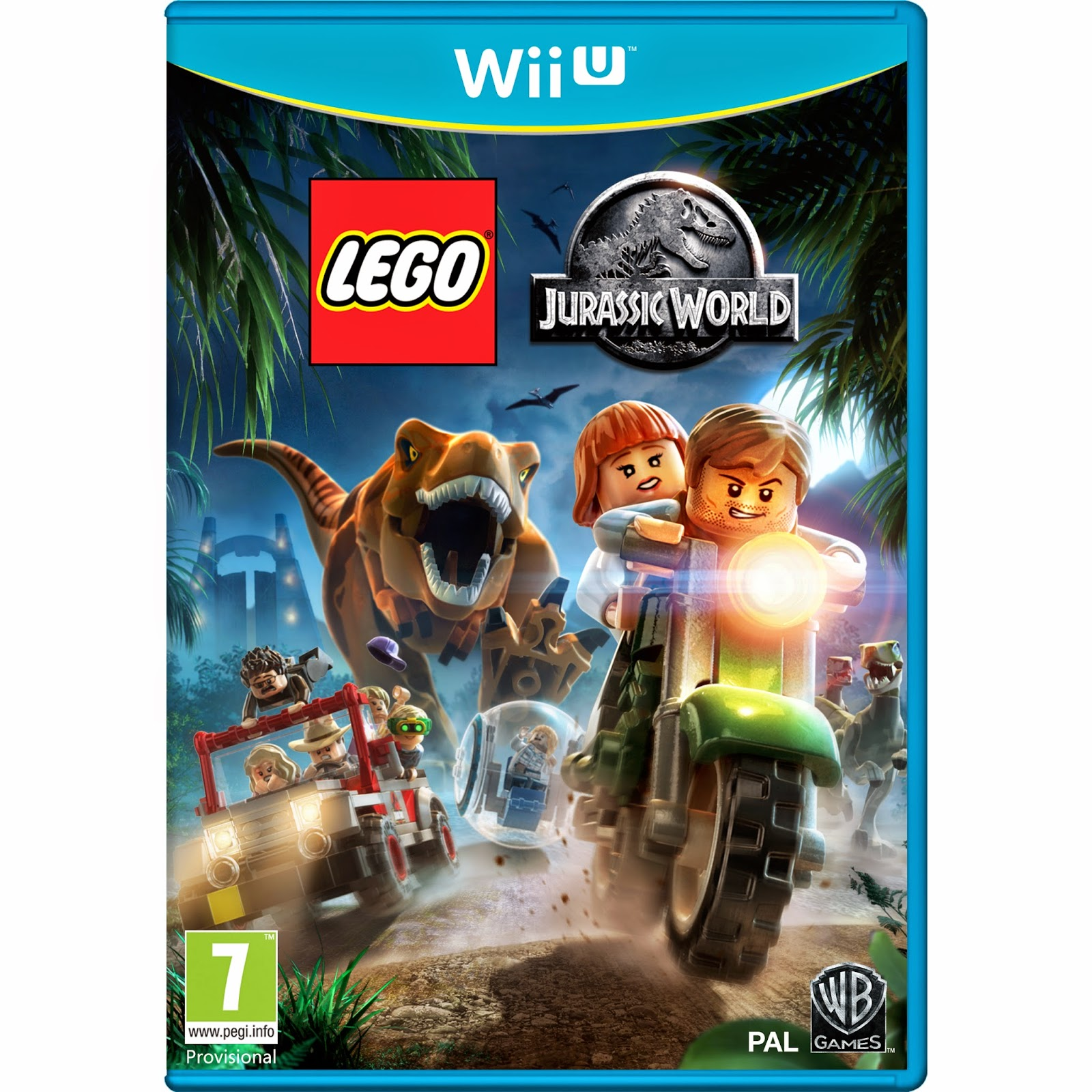 jurassic world game wii u