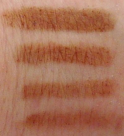 Mally Brow Fix Swatches