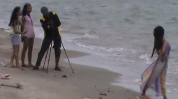 Gambar video keindahan pantai Jati Sari Sluke Rembang