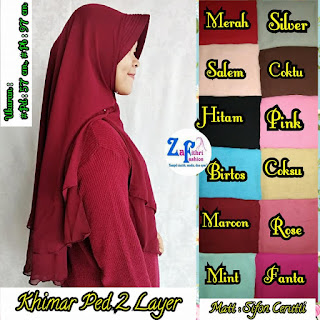 khimar osd pet sifon 2 layer
