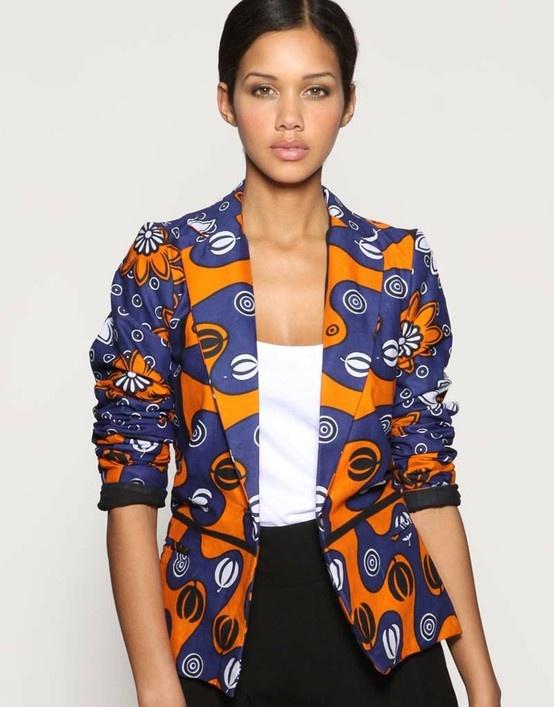 Beautiful Latest Ankara Jackets For My African Ladies Fashion 32