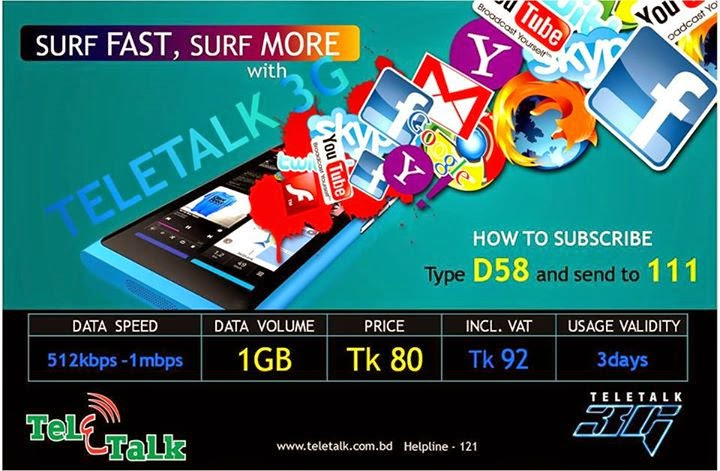 Teletalk-3G-1GB-Data-at-Tk80-Only