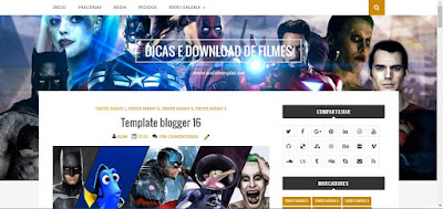 Template Blogger Dicas Download de Filmes