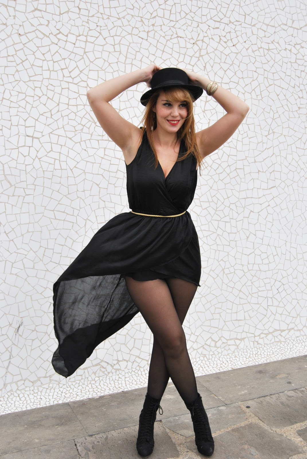 nery hdez, lbd, inlovewithfashion, hat