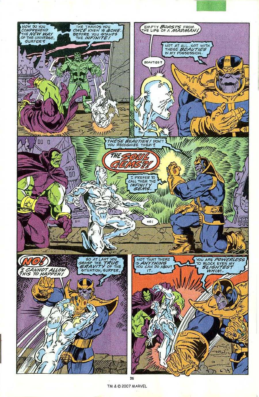 Read online Silver Surfer (1987) comic -  Issue #44 - 27