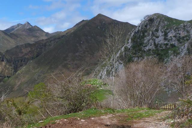 Cerro Tebrandi y Niaño al fondo - Piloña - Asturias