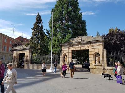Alameda de Cervantes, parque en Soria