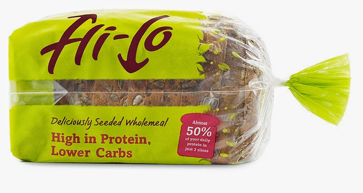 The Low Carb Diabetic: Another low carb bread hits the shops !