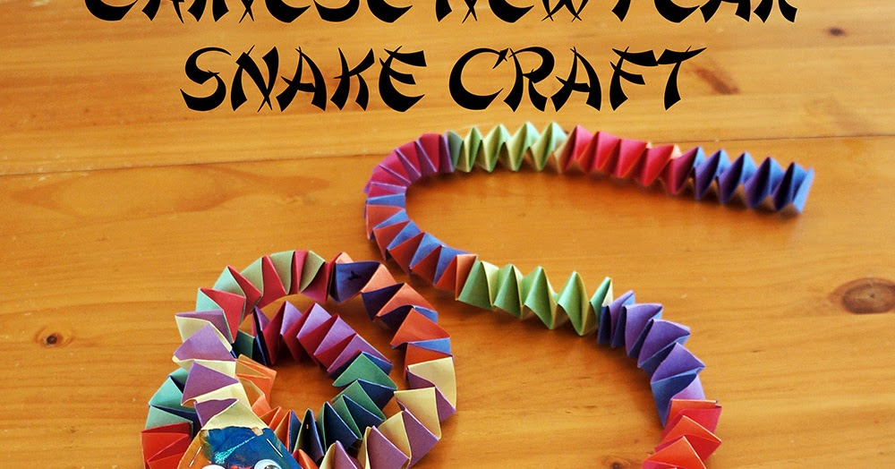 new ideas for art and craft craftiments new year snake craft 7840