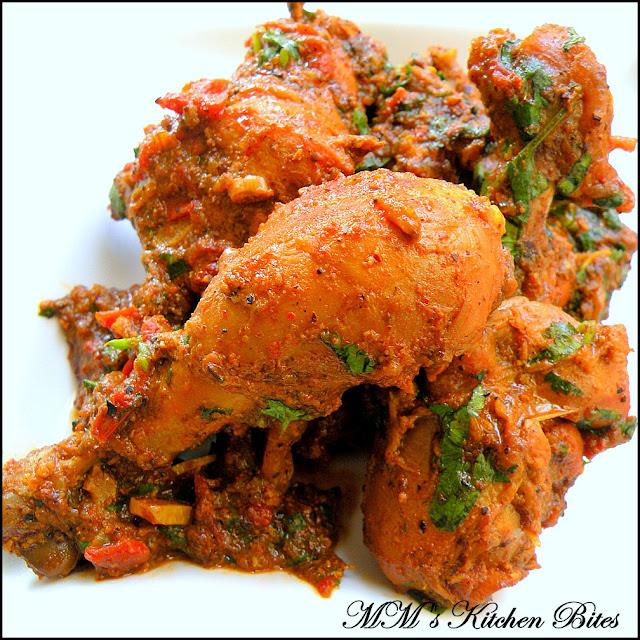 Achaari Chicken mmskitchenbites