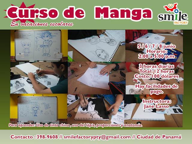 Curso de manga en Panamá