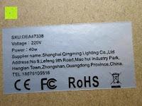 Sicherheit: amzdeal® Vintage Glühlampe Glühbirne T03 (40W, E27, 220-240V)