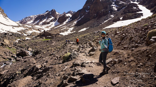 to toubkal peak atlas mountains toubkal reguge