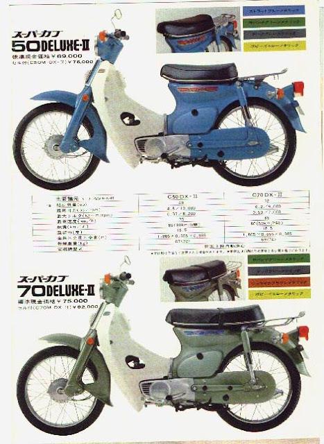 Iklan Honda Super Cub C50 dan C70