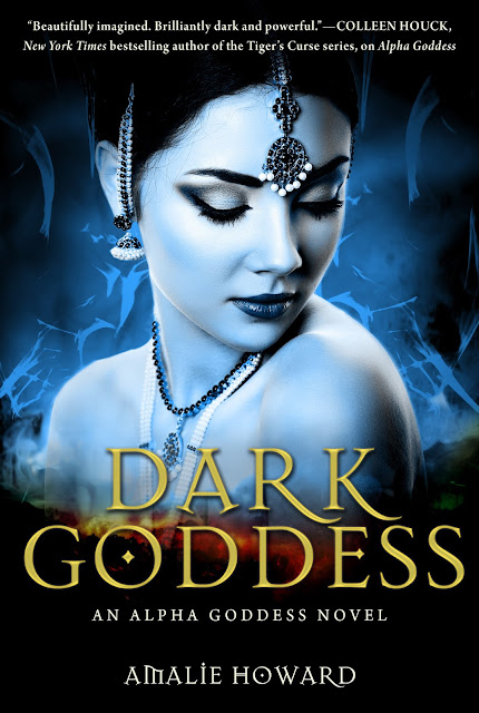 Cover Reveal: Dark Goddess by Amalie Howard