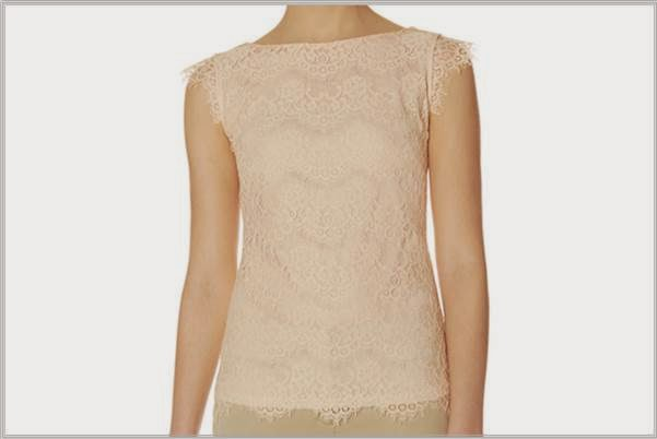 The Limited Layered Lace Tee
