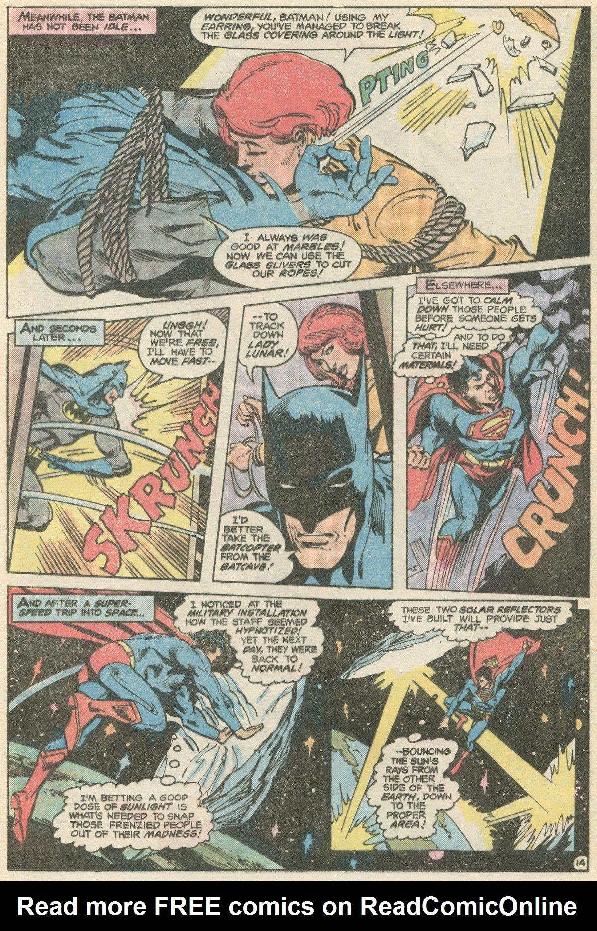 Read online World's Finest Comics comic -  Issue #266 - 16