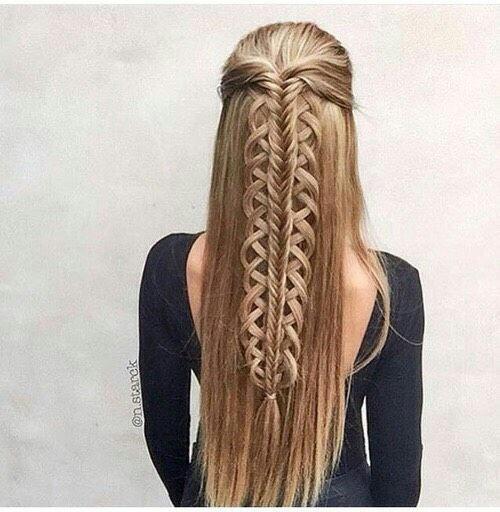 Uniqu hairstyle
